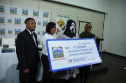 gagnant loto Jamaïque masque Scream