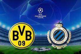 logo match ligue des champions borussia dortmund club bruges