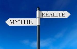 mythe réalité flèches