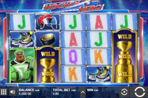 hockey hero slot